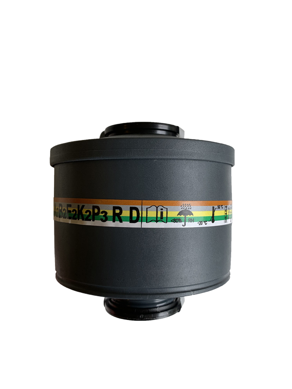"Multipurpose Rd 40mmx1/7"" connection Gas Mask Filters. Filtering category 203A2B2E2K2P3 R D. Combined filter with standard thread connector to EN 148-1"